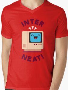 Interneat!  Mens V-Neck T-Shirt