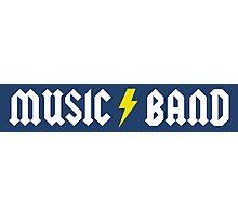 Music/Band (alternate) Photographic Print