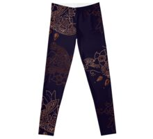 Henna art Double Leggings