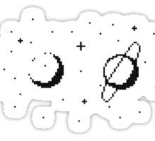 Planet Stars Moon Sticker