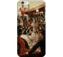 James Tissot - Women of Paris The Circus Lover 1885 iPhone Case/Skin