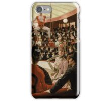 James Tissot - Women of Paris The Circus Lover 1885 iPhone Case/Skin