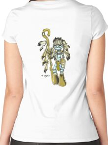 Warrior twins (early version) Women's Fitted Scoop T-Shirt