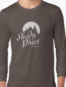 Golden Girls TV Show Fan Art - Shady Pines Long Sleeve T-Shirt