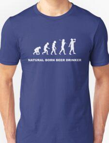 Evolution of a Beer Drinker T-Shirt