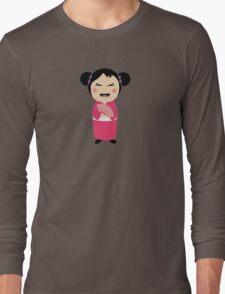 kokeshi doll Long Sleeve T-Shirt