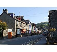 Ambleside street  Lake District Photographic Print