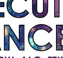IUDM Executive Dancers Sticker