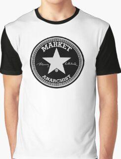 Murray Rothbard Black Market Anarchist Graphic T-Shirt