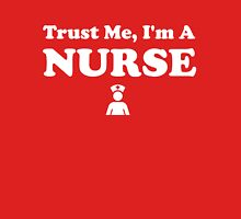 Trust Me I'm a Nurse Women's Fitted V-Neck T-Shirt