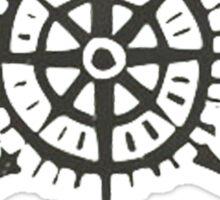 Compas - Travel - Where will you go? Sticker