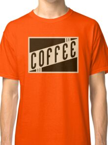 vintage coffee Classic T-Shirt