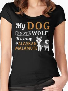 Alaskan Malamute Women's Fitted Scoop T-Shirt