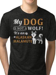 Alaskan Malamute Tri-blend T-Shirt