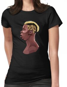 Paul Pogba Womens Fitted T-Shirt