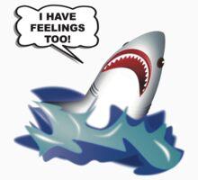 Shark Feelings Kids Tee