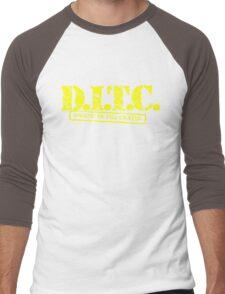 DITC crew replica Rawkus tshirt - Diggin in the crates late 90s Men's Baseball ¾ T-Shirt