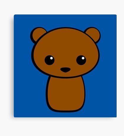 Brown Bear Canvas Print