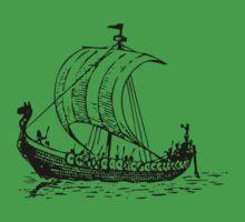 Viking Ship Kids Tee