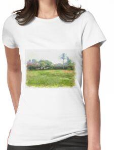 grass Womens Fitted T-Shirt