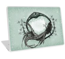 Long Tailed Widow Bird Laptop Skin
