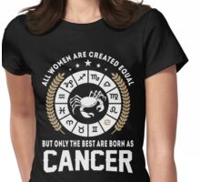 Cancer women Womens Fitted T-Shirt