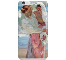 Joaquin Sorolla y Bastida - After Bathing 1915 iPhone Case/Skin
