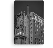 Pioneer Under Construction Canvas Print