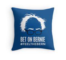 Bernie Hair Throw Pillow