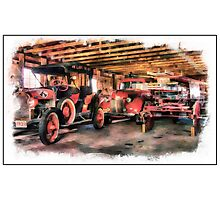 New Glarus Fire Apparatus Photographic Print