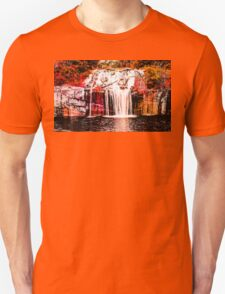 Green Lake Waterfall Unisex T-Shirt