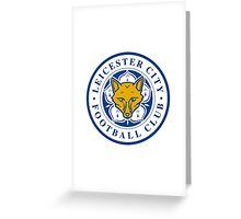 leicester city Greeting Card
