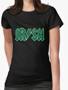 IRISH Rock style distressed Womens Fitted T-Shirt
