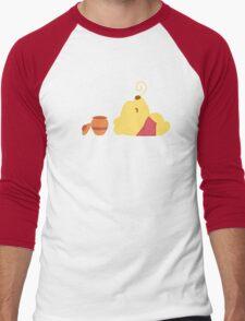 Happy Bear Men's Baseball ¾ T-Shirt