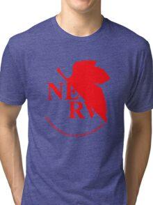 Neon Genesis Evangelion - NERV Logo Tri-blend T-Shirt