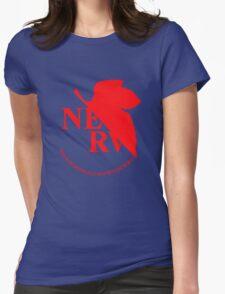 Neon Genesis Evangelion - NERV Logo Womens Fitted T-Shirt
