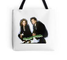 Dana Scully/Fox Mulder Tote Bag