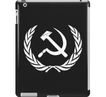 Sickle and Hammer WHITE iPad Case/Skin