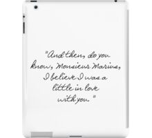 A Little In Love With You iPad Case/Skin