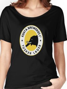 Tusker Beer Kenya Women's Relaxed Fit T-Shirt