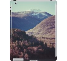 Mountains in the background XIV iPad Case/Skin