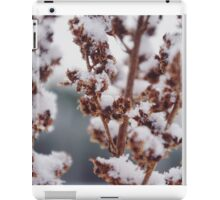 Frosted Flora iPad Case/Skin