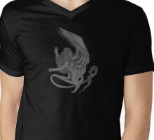 The Sphinx Rampant Alternate Mens V-Neck T-Shirt