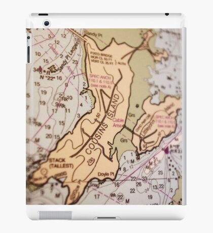 Cousins Island iPad Case/Skin