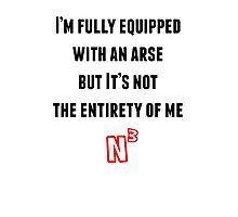 NerdCubed Quote Photographic Print