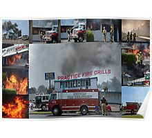 Newport Oregon Fire Department Drill - Practice Fire Drills Poster