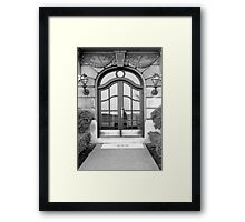 1980's Chicago Door Framed Print