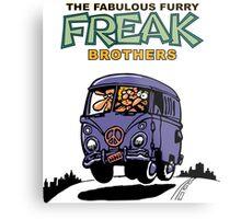 Fabulous Furry Freak Brothers Bus! Metal Print