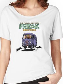 Fabulous Furry Freak Brothers Bus! Women's Relaxed Fit T-Shirt