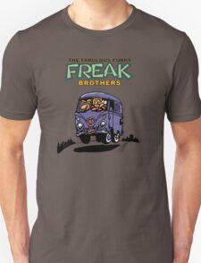 Fabulous Furry Freak Brothers Bus! Unisex T-Shirt